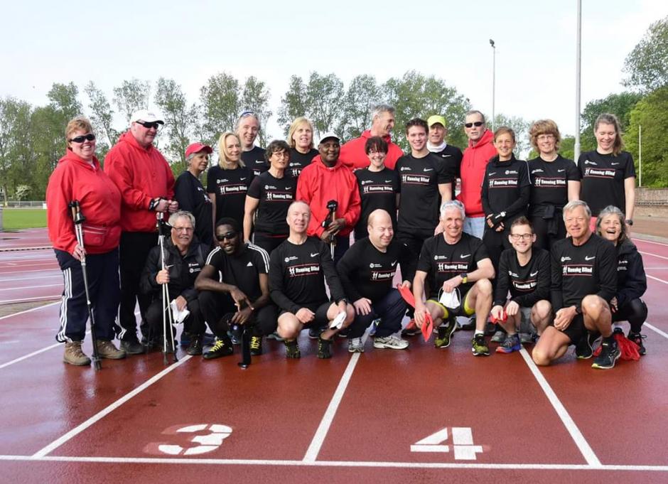 Team Running Blind